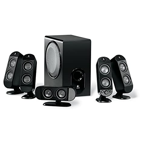 Logitech PC Speakers X-530 5.1 70W: Amazon.it: Videogiochi