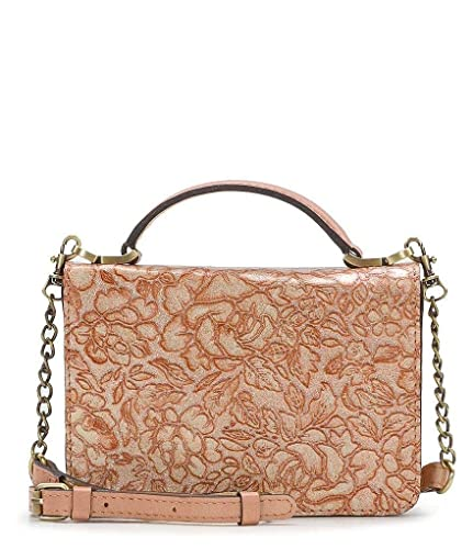 78c09d8404e Patricia Nash Women Glitter Rose Collection Antolina Phone Cross-Body Bag  (Dusty Rose): Handbags: Amazon.com
