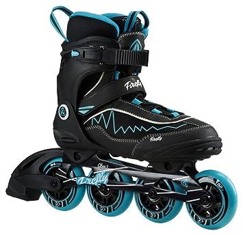 Firefly Mujer de patines en línea FF aluminio 84 Lady, negro y azul ...