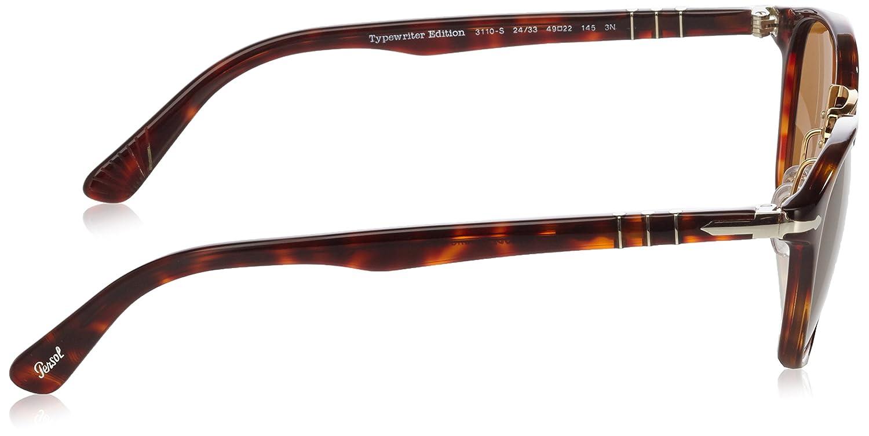 083e1fd5cae Amazon.com  Persol 24 33 Havana Po 3110-s - Brown Sunglasses  Persol   Clothing