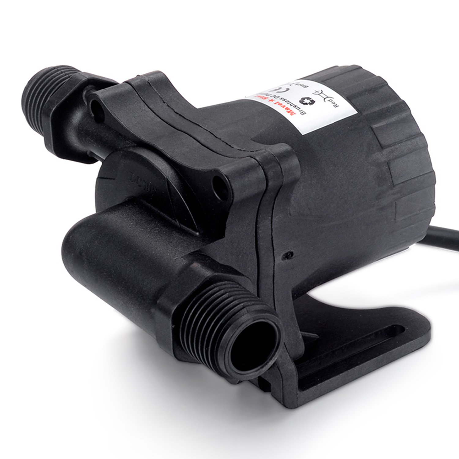 Mavel Star 12V DC Submersible Water Pump 348 GPH Brushless Magnetic Drived fountains Water Pump