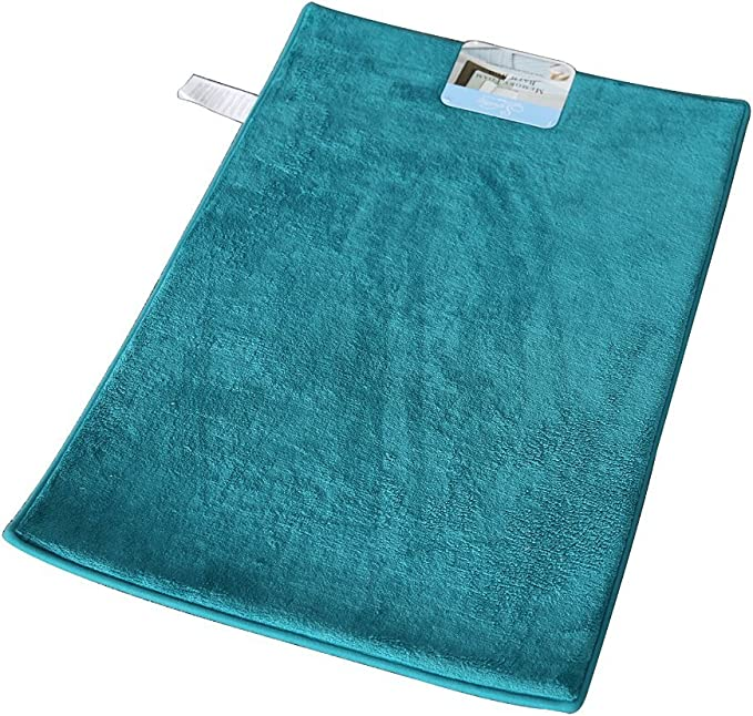 Garden Home Luxury Memory Foam Bath Rug 16x22 Emerald Green Home Kitchen Amazon Com