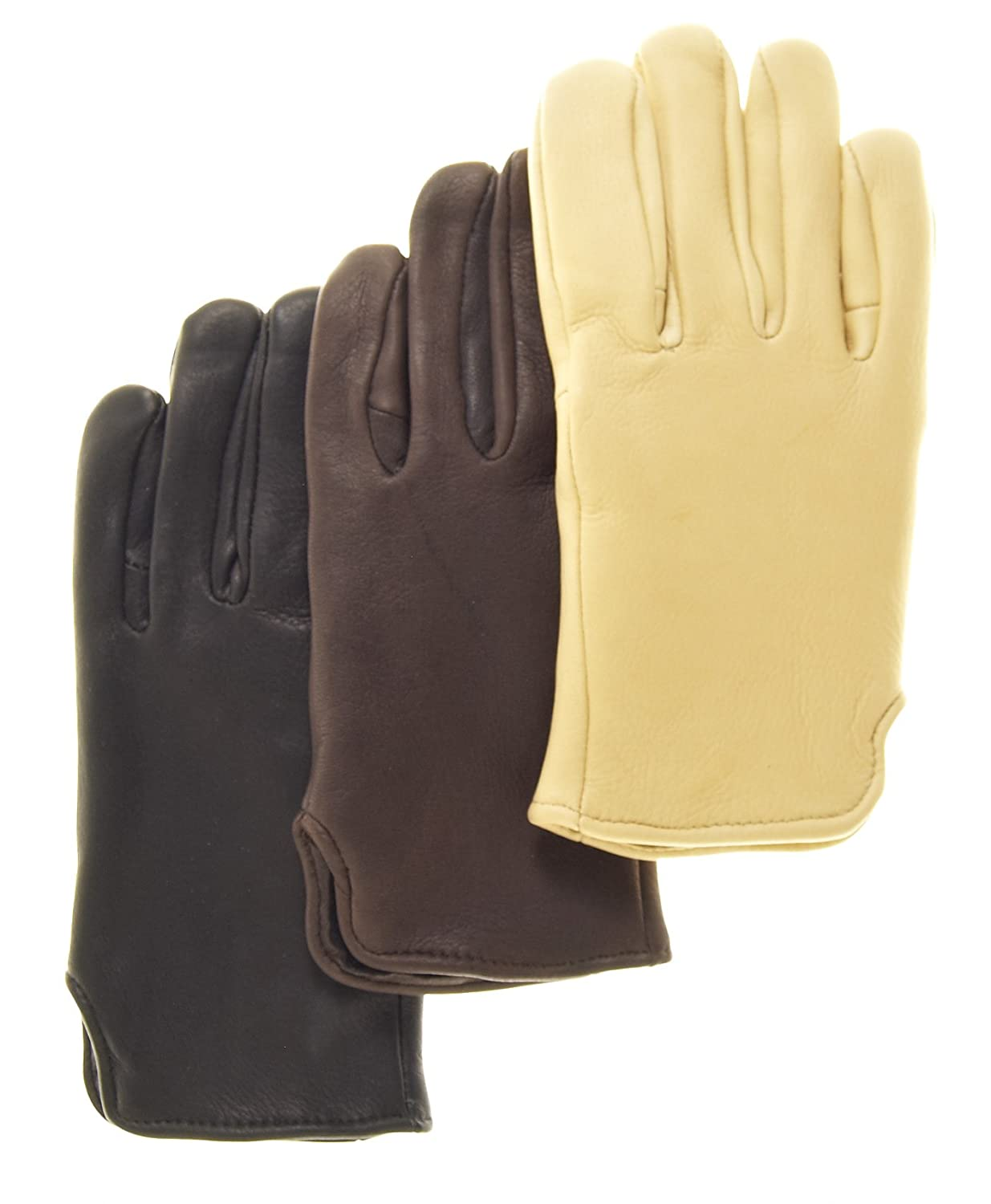 Mens deerskin gloves - Geier Glove Men S Fleece Lined Deerskin Gloves Size 7 Color Black At Amazon Men S Clothing Store Cold Weather Gloves