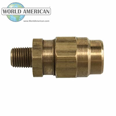 World American WA01-5012 Male Hose End: Automotive