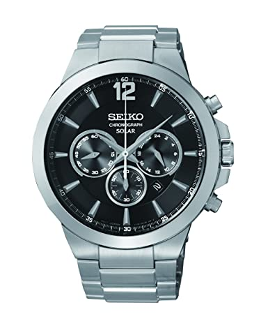 Amazon.com: Seiko De los hombres ssc321 Analog Display reloj ...