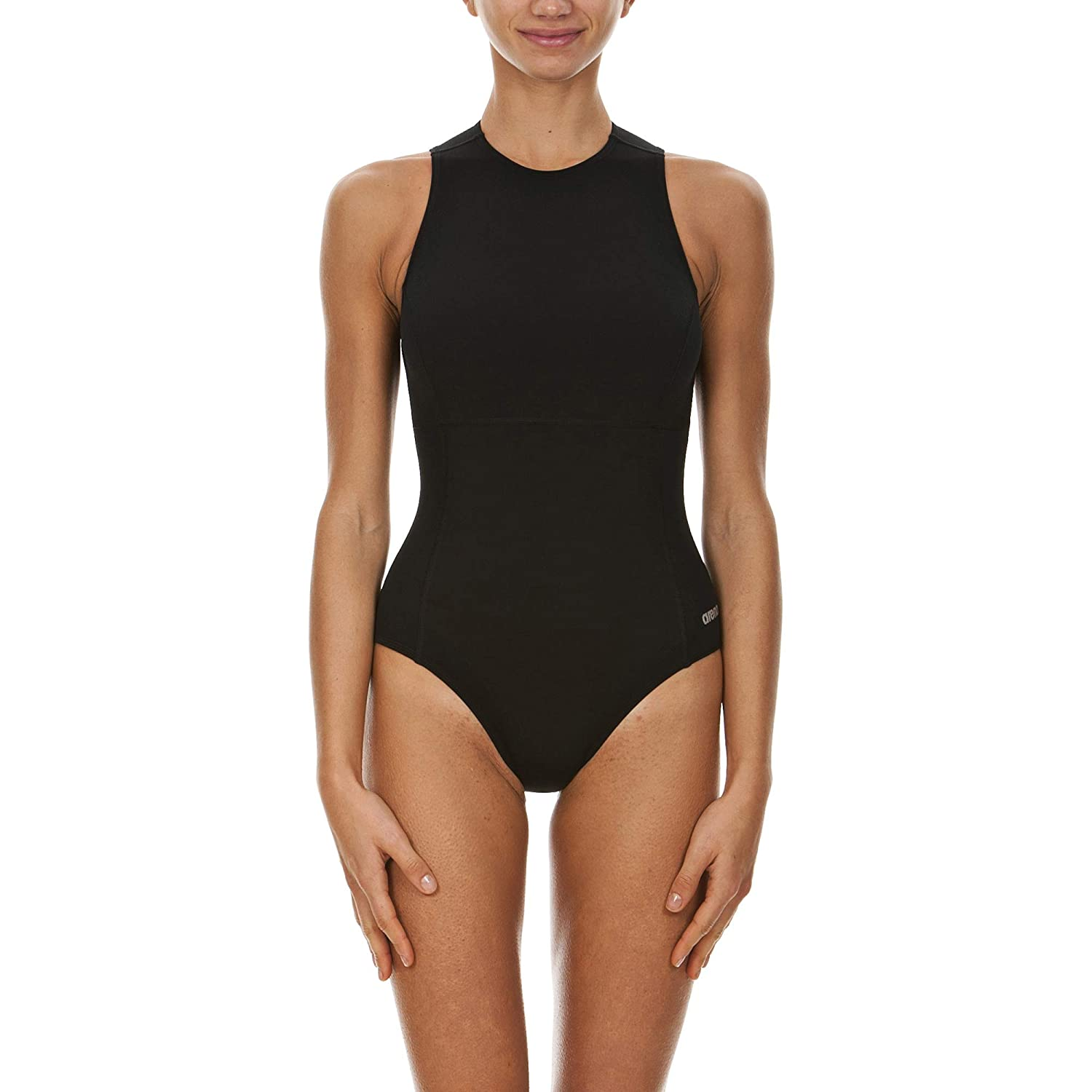 b93100f749 Amazon.com : Arena Women's Waterpolo Fl One Piece Swimsuit : Athletic One  Piece Swimsuits : Clothing