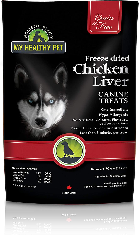My Healthy Pet Freeze Dried Chicken Liver 35g: Pet Supplies: Amazon.com