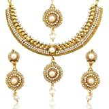 Dancing Girl Bridal Kundans Jewellery Necklace Set For Girls And Women