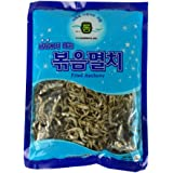 ROM AMERICA Korean Middle Size Dried Anchovies 8 oz (226g) Anchovy for Soup Stock, 볶음멸치