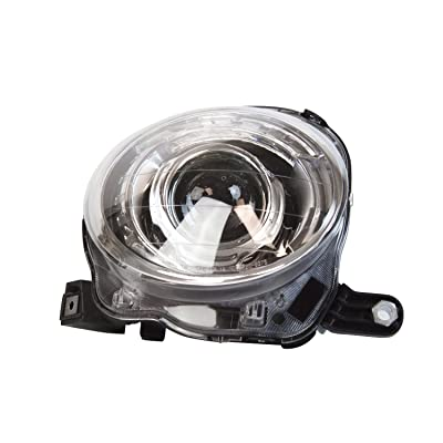 TYC 20-9375-00-1 Fiat 500 Right Replacement Head Lamp: Automotive