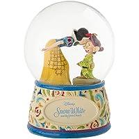 Enesco 4060098 Bola de Nieve Blancanieves y Mudito