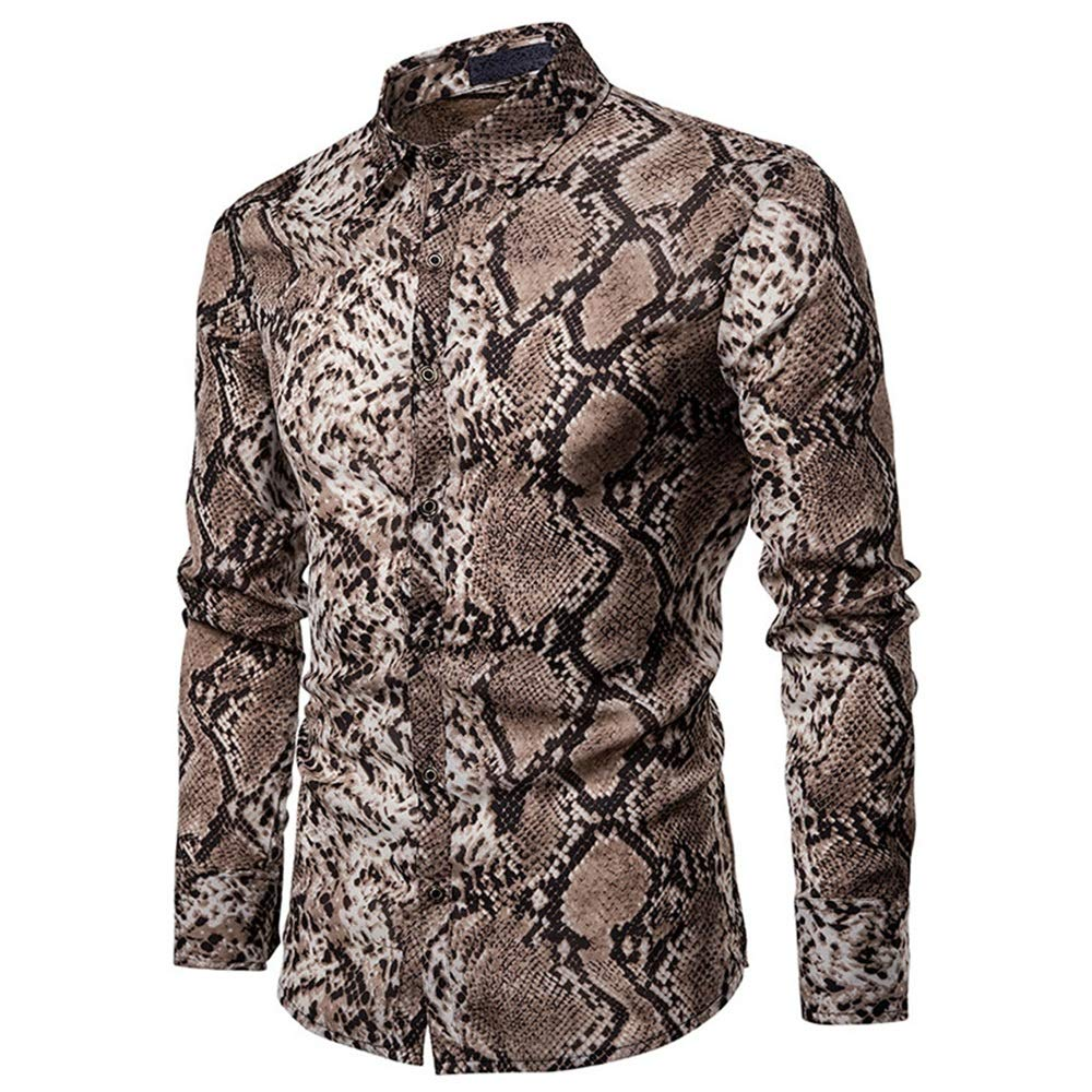 Ropa Camisa de serpiente