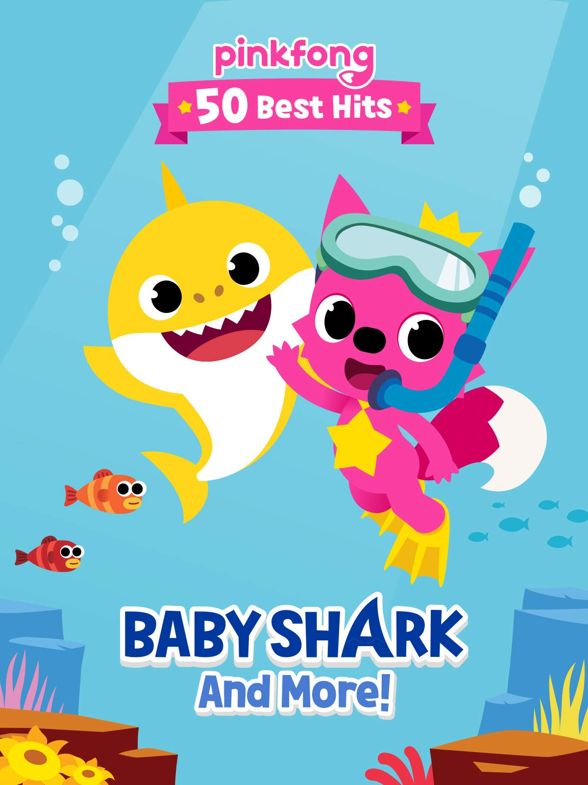 Amazon.com: Pinkfong 50 Best Hits: Baby Shark and More: Pinkfong ...