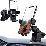 ORIbox Car Phone Mount, Dashboard Car Phone Holder, Washable Strong Sticky Gel Pad for iPhone, Samsung, and All Phones…