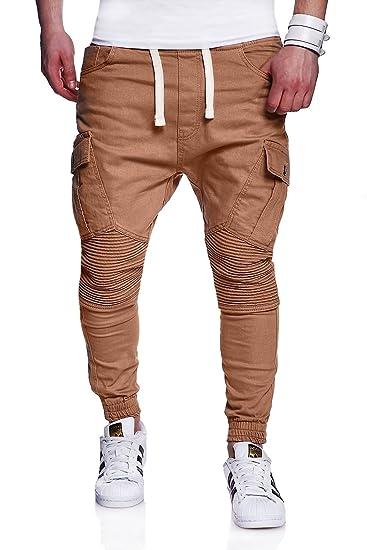 heißer verkauf rabatt neues Erscheinungsbild sehr günstig MT Styles Biker Jogging-Jeans Chino Pants RJ-2276