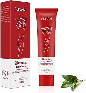 Slimming cream, Body Fat Burning Cream, Weight Loss Creams, Anti Cellulite Fat Burning for Waist, Abdomen and Buttocks