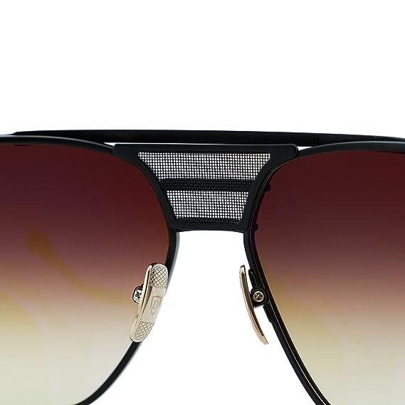 add881b1dfdc DITA Armada Men DRX-2045-B Gold   Black Titanium Japan Aviator Sunglasses  62mm  Dita  Amazon.co.uk  Clothing