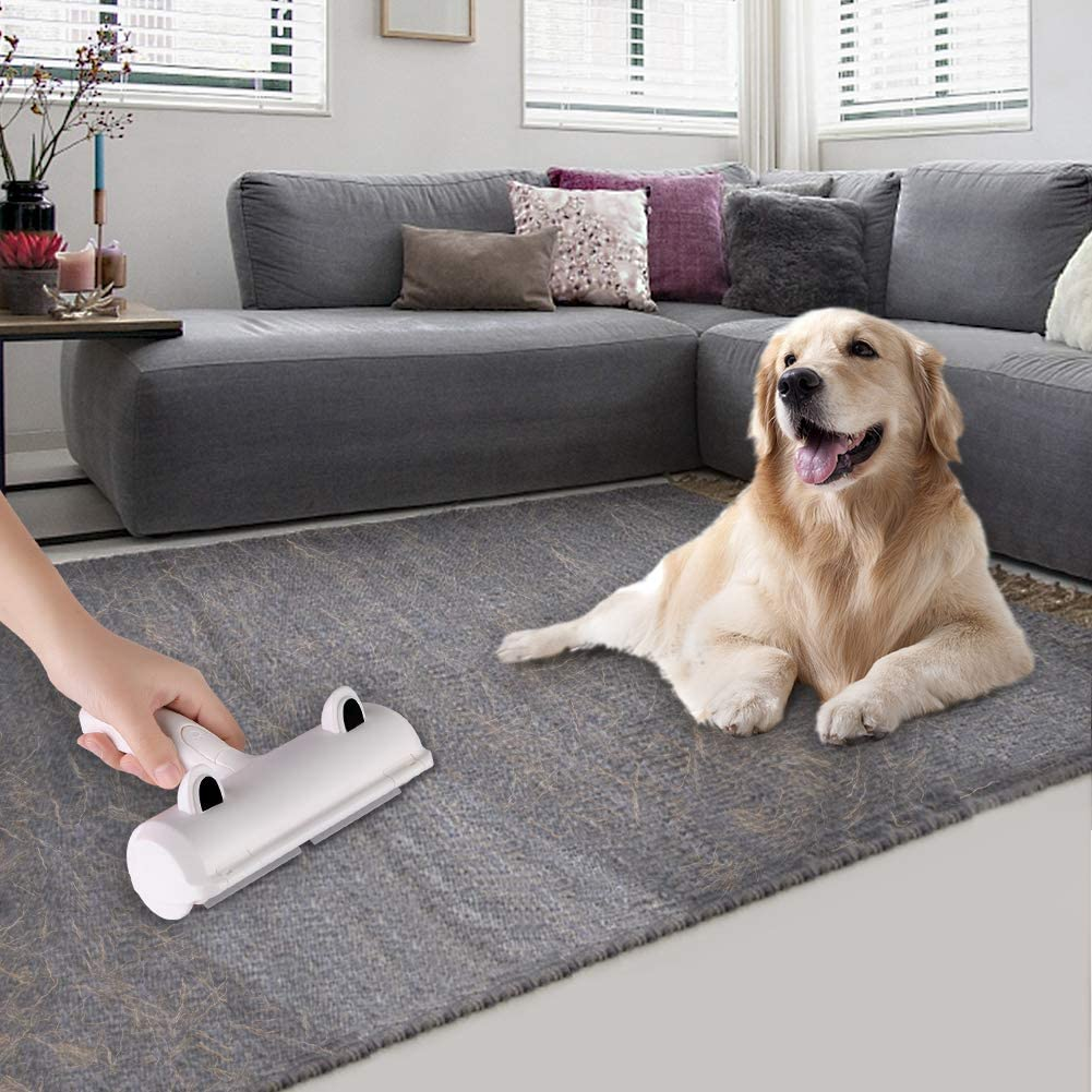 Spazzola per La Depilazione per Animali Domestici Spazzola Toglipeli per Tessuti Autopulitura Rulli per Rimozione Peli di Cani e Gatti Lavabile Riutilizzabile Rullo Spazzola X-BLTU Togli Peli Animali