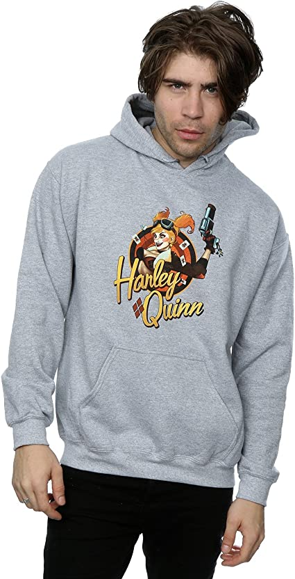 Harley Quinn Bombshell DC Comics Licensed Adult Pullover Hoodie