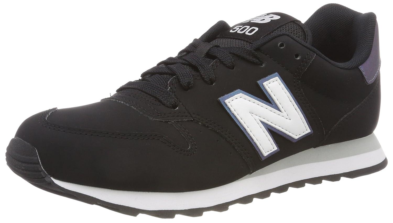 New Balance 500, Zapatillas para Mujer 36.5 EU|Negro (Black/Irredescent/White Kir)