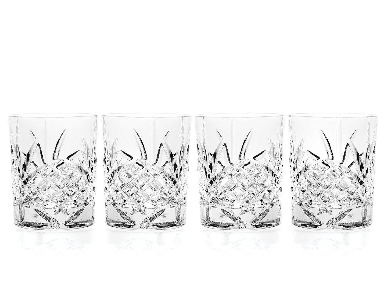Godinger Dublin Double Old Fashioned Glasses, Set of 4 25722
