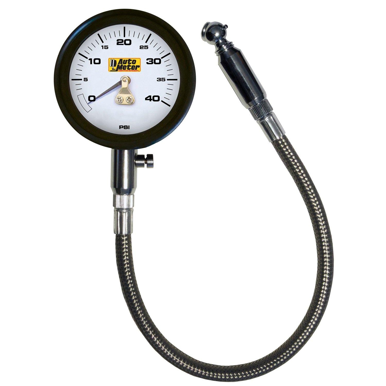 Oxford Tyre Gauge Pro Motorcycle Motorbike Analogue Pressure Gauge0-60 psi