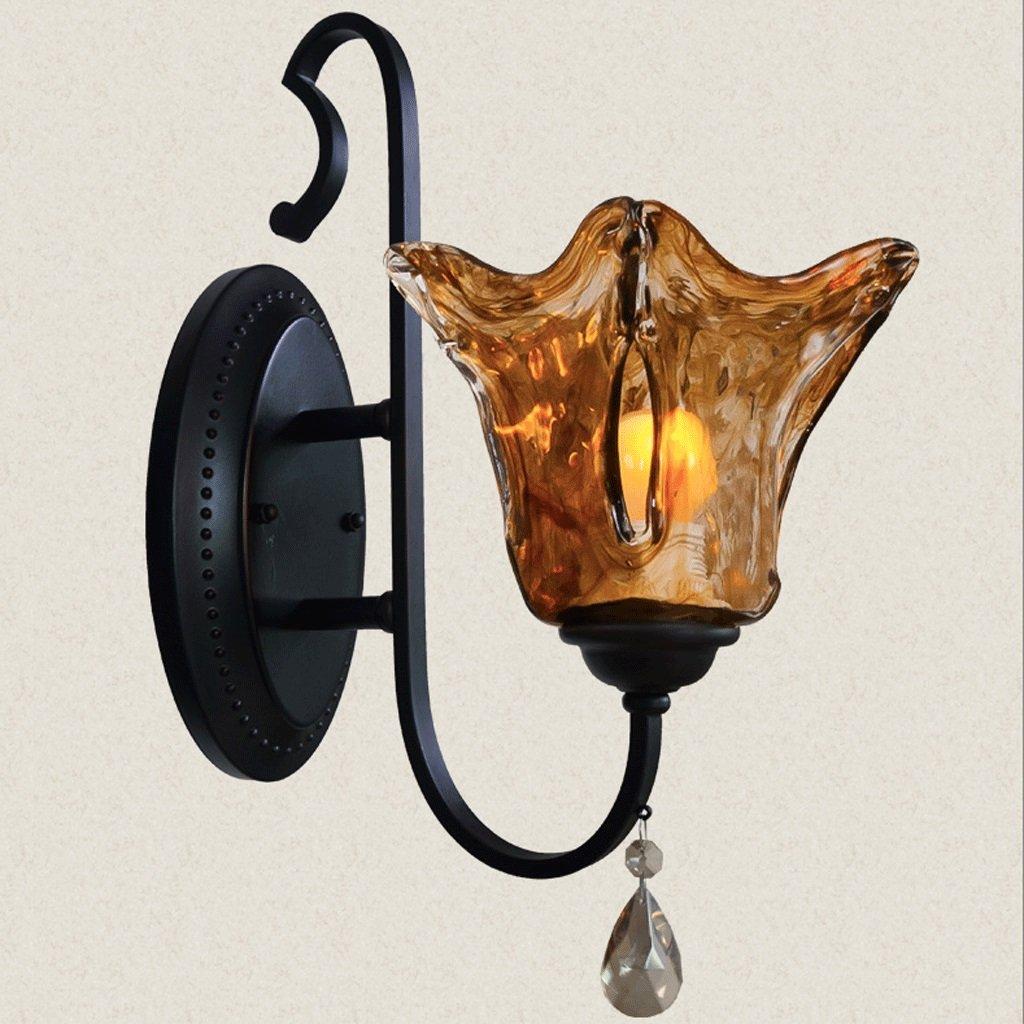 ordinare on-line ZYN Lampada da Parete in Ferro in Stile Stile Stile Europeo Lampada da Parete in Cristallo in Stile Europeo Lampada da Parete per Sala da Pranzo  negozio d'offerta