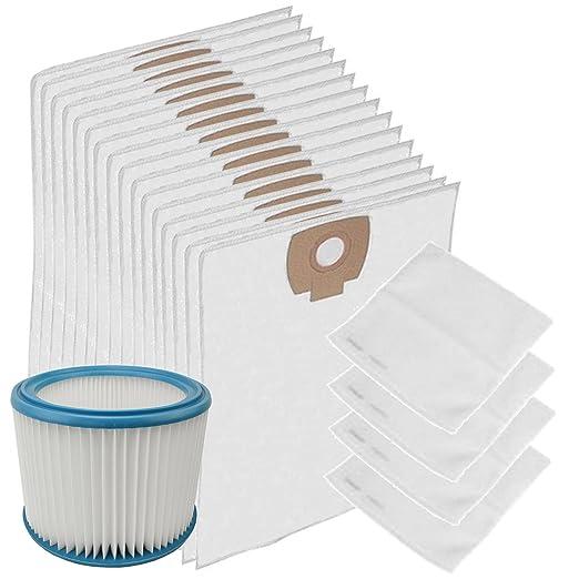 Spares2go lavable filtro de motor + mojado y seco gamuza ...