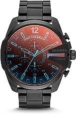 Diesel Men's DZ4318 Diesel Chief Series Black Stainless Steel Watch [並行輸入品]