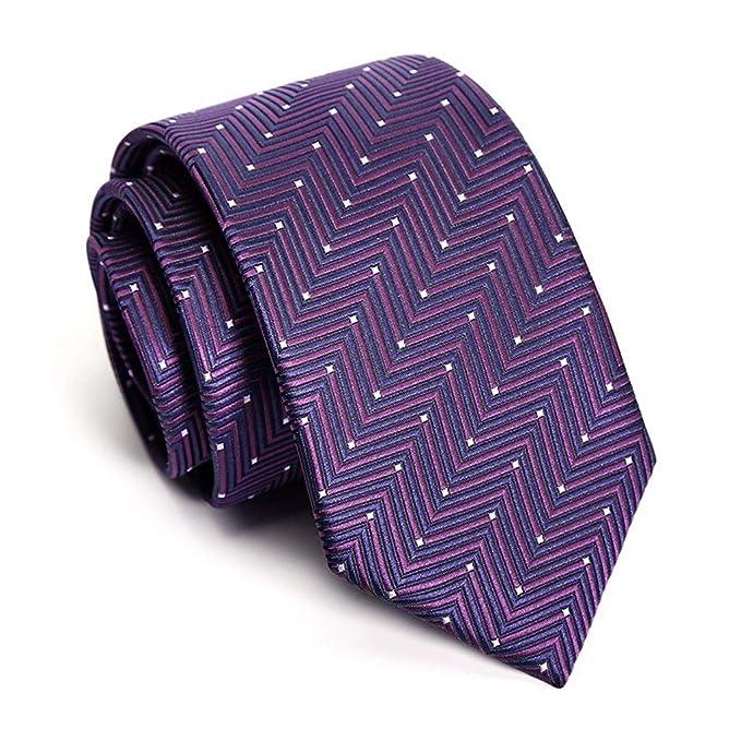 FYDL Traje Formal para Hombre de Negocios Corbata pequeña Corbata ...