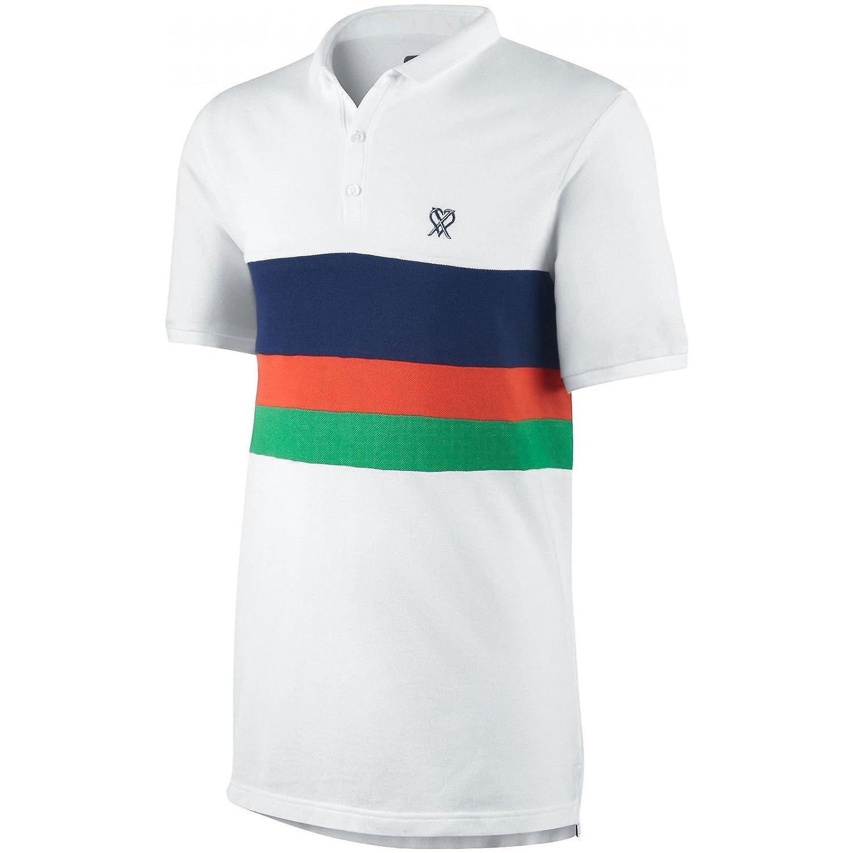 Cristiano Ronaldo Polo. De color blanco. Nike: Amazon.es: Deportes ...