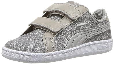 d4846dcf66bd PUMA Baby Smash Glitz Glamm Velcro Kids Sneaker