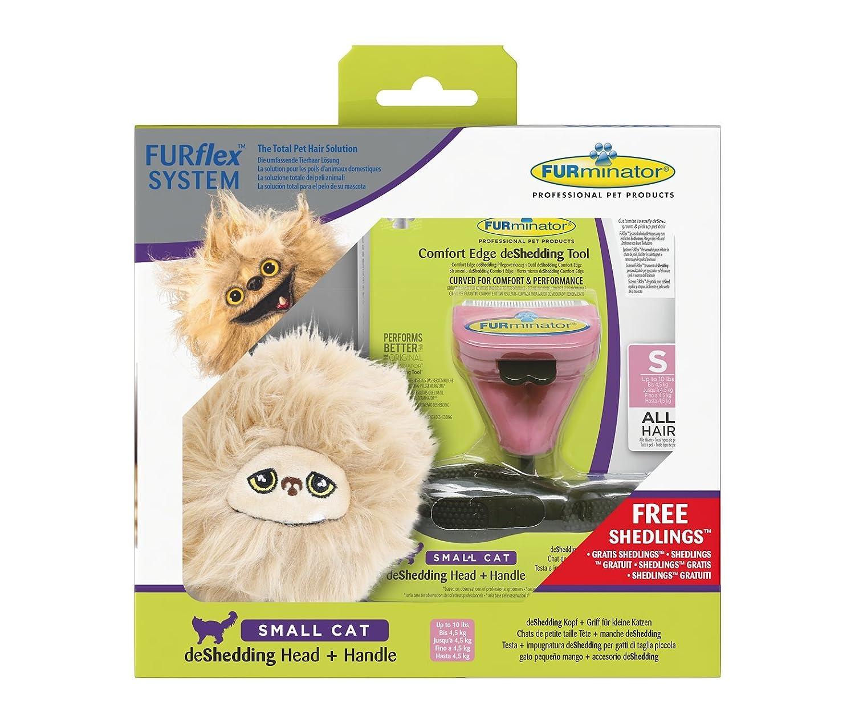 Furminator furflex, Cepillo Cuidado de Pelo para pequeños Gatos ...