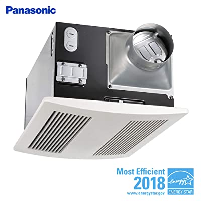 Panasonic FV-11VH2 Whisper Warm 110 CFM Ceiling Mounted Fan/Heat Combination