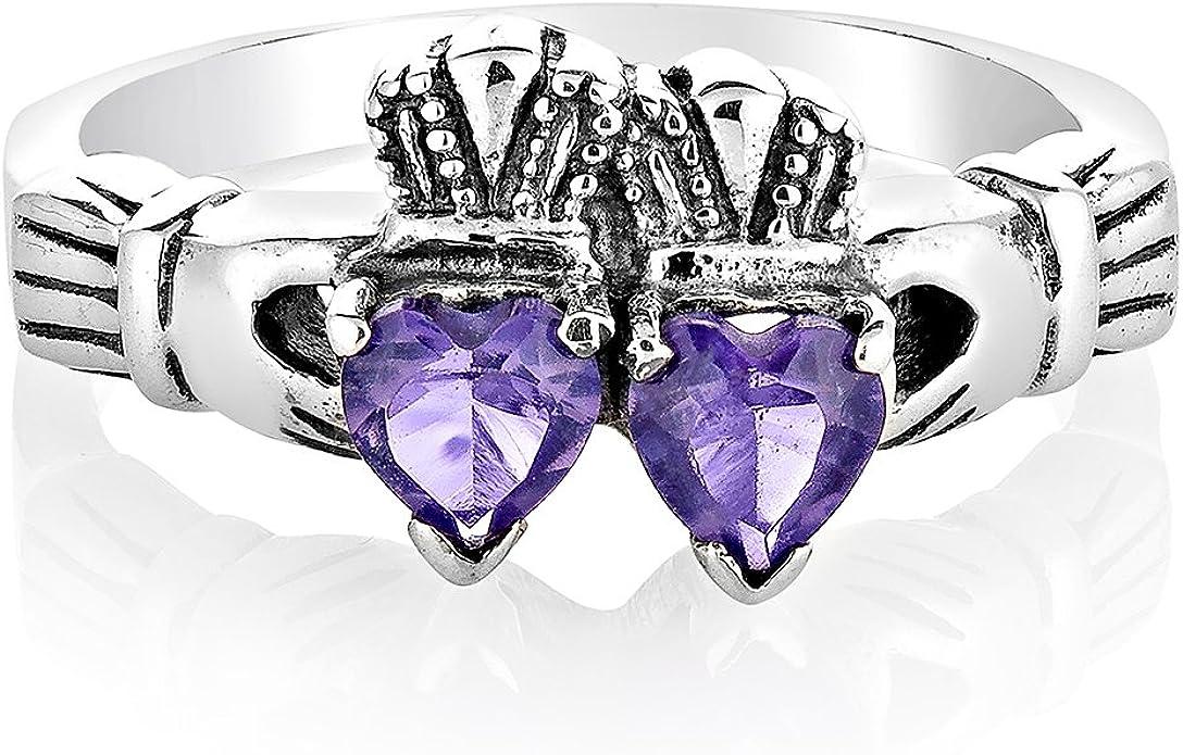 DiamondJewelryNY Sterling Silver Trinity Irish Knot Pendant