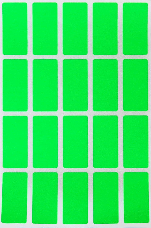 Archivio E Documenti 4 CM X 1,9 CM Royal Green Adesivi Rettangolari Colore Bianco 40 MM X 19 MM Ufficio Confezione Da 300 Pezzi per Bambini Etichette Adesive Multiuso Scuola