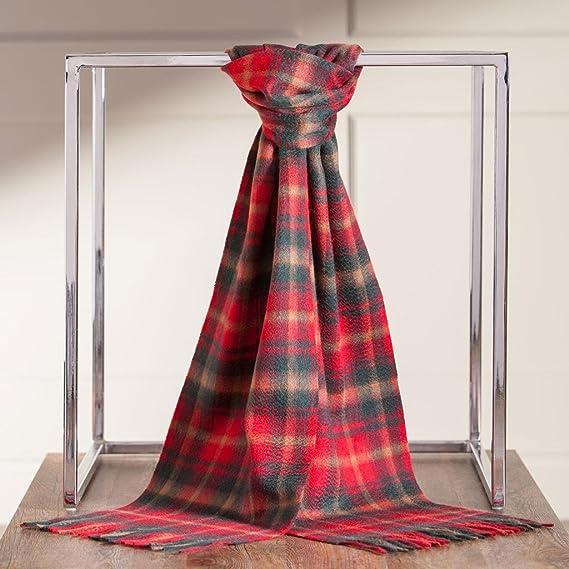 ced875bf80fd Écossaise 100 % cachemire homme luxe écharpe scotland tartan - Beige -  taille unique  Amazon.fr  Vêtements et accessoires