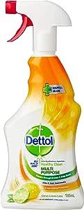 Dettol Healthy Clean Multi Purpose Spray Citrus Lemon Lime 500mL