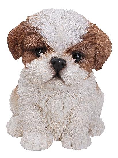 Vivid Arts Pet Pal Dogs Shihtzu Puppy Brownwhite