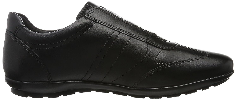 Geox Mens Uomo Symbol C Low-Top Sneakers