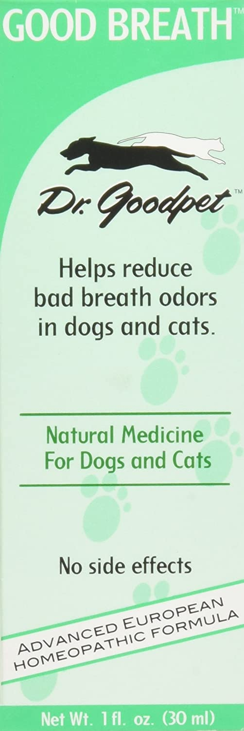 Dr. Goodpet Homeopathic Breath Formula for Dogs & Cats, Small