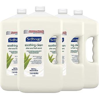 Softsoap - 201900 SOFTSOAP Liquid Hand Soap Refill, Soothing Aloe Vera, 1 Gallon (case of 4)