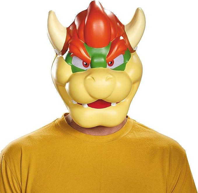 Máscara Bowser adulto: Amazon.es: Juguetes y juegos