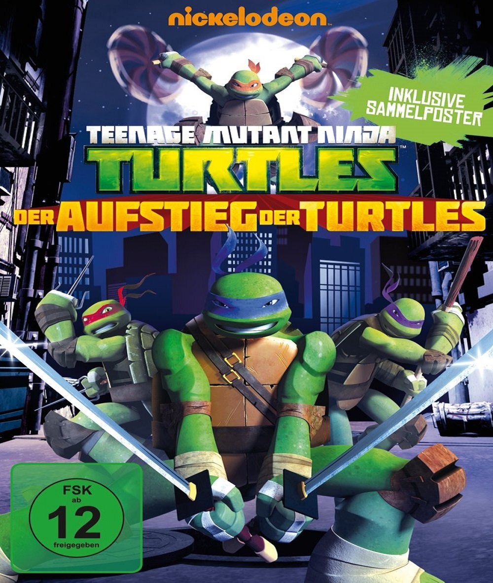 Amazon.com: Teenage Mutant Ninja Turtles: Der Aufstieg der ...