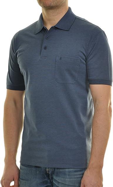 Ragman MAGLIA POLO DA UOMO softknit Jeans a maniche corte 540391