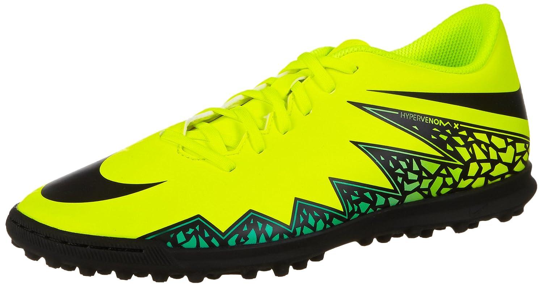 Nike Herren Hypervenom Phade II TF Fuszlig;ballschuhe  45 EU|Amarillo (Amarillo (Volt/Black-hyper Turq-clr Jade))