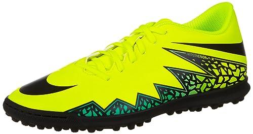 new concept f644b 5098e Nike Hypervenom Phade II TF, Scarpe da Calcio Uomo, Giallo (Amarillo  (Amarillo