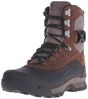 SOREL Men's Paxson Tall Waterproof Snow Boot, Tobacco, Wet Sand, ...