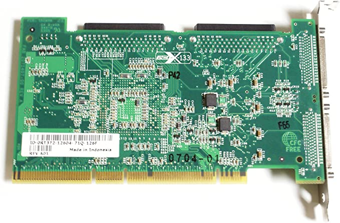 FP874 Dell Genuine Adaptec ASC-39320A GC401 FP874 Ultra320 SCSI//LVD Dual PCI-X 320MBps RAID Controller Card Compatible Part Numbers: RT372 F9685 GC401 Compatible Model Numbers: ASC-39320A