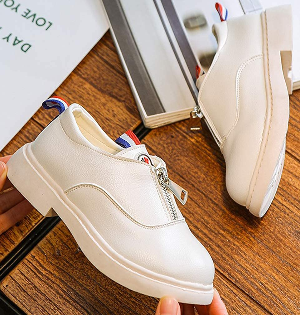 VECJUNIA Boys Girls Classic Martin Boots Waterproof PU Nonslip Shoes